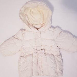 Baby girl winter coat/jacket.